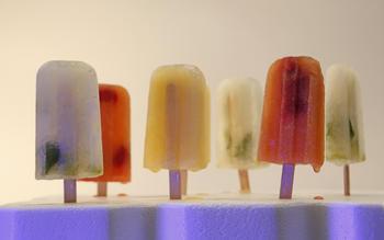 Mojito popsicles