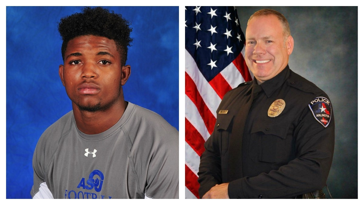 Autopsy: Texas football player fatally shot by police had psychedelic drug in system