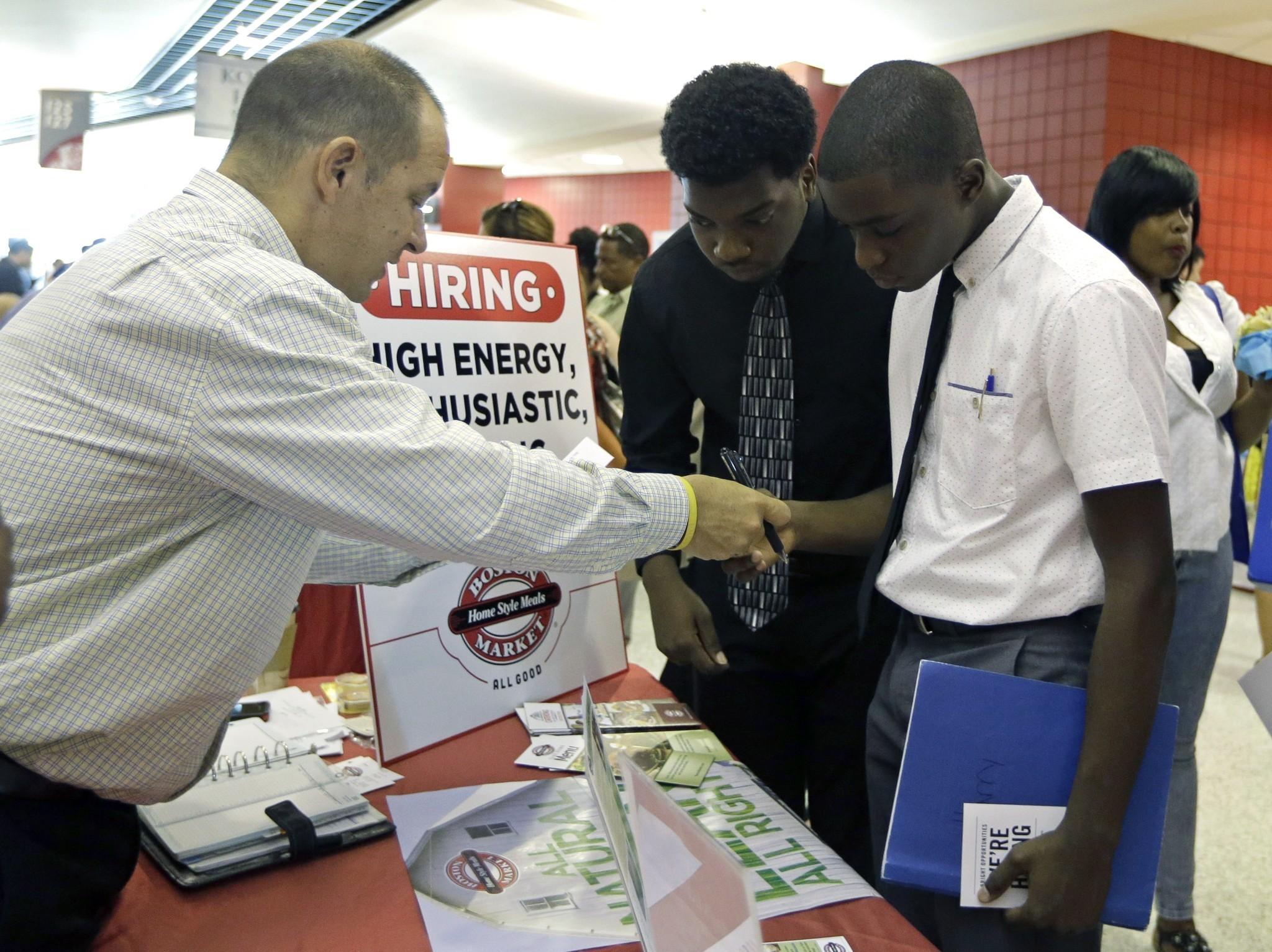snapshot of u s job market solid hiring but still tepid pay snapshot of u s job market solid hiring but still tepid pay chicago tribune