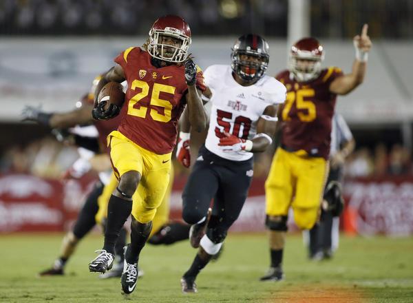 Ronald Jones II among USC freshmen who attract notice in ...