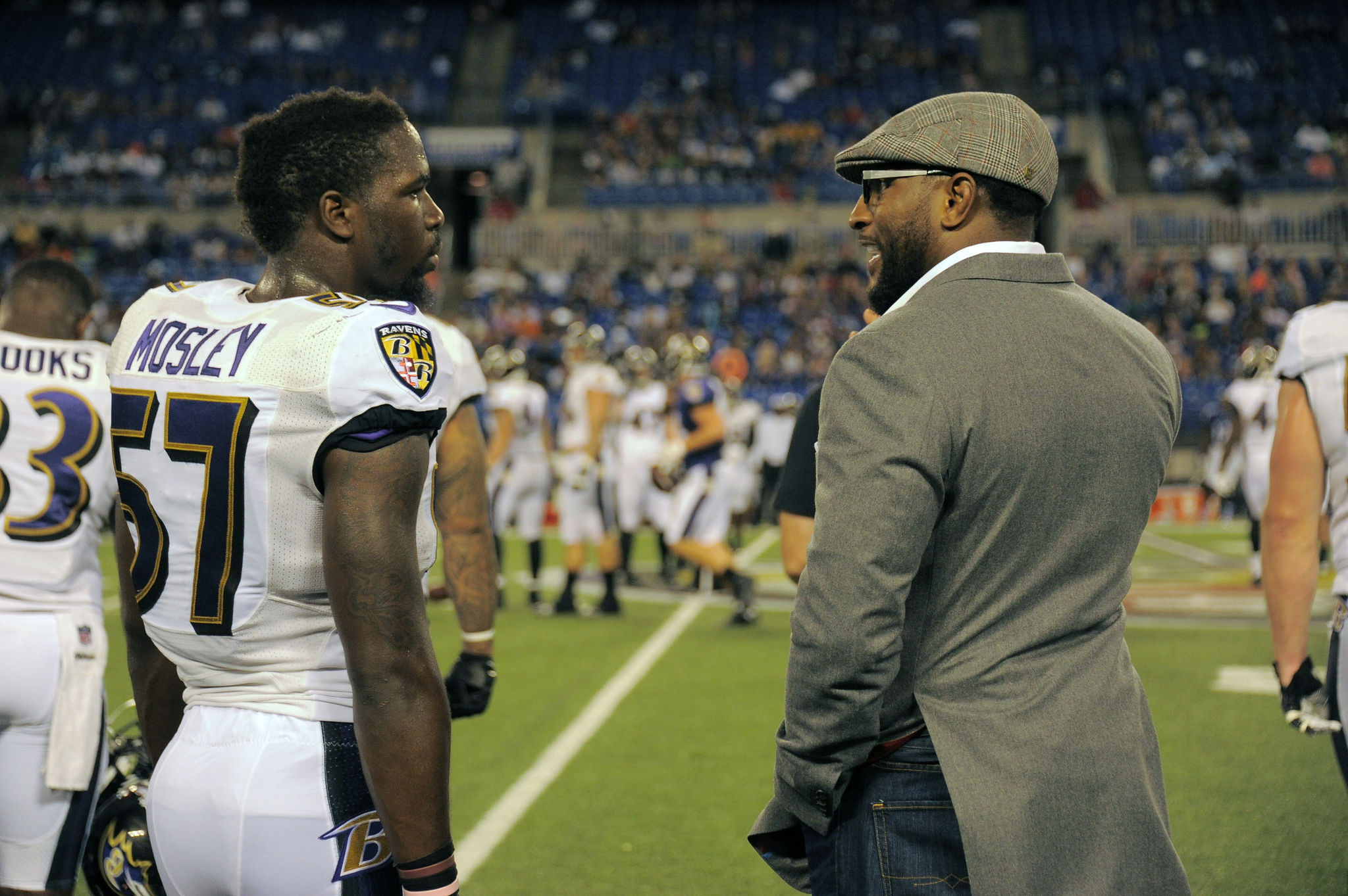 Ravens linebacker C J Mosley plays in Ray Lewis shadow but