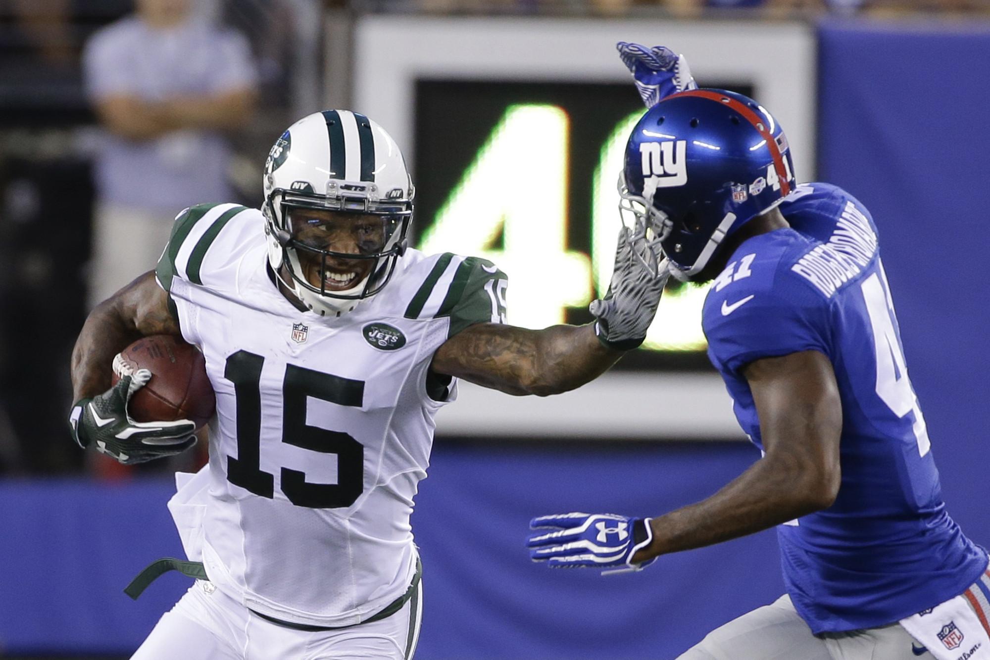 Jets WR Brandon Marshall Many players believe Tom Brady decision