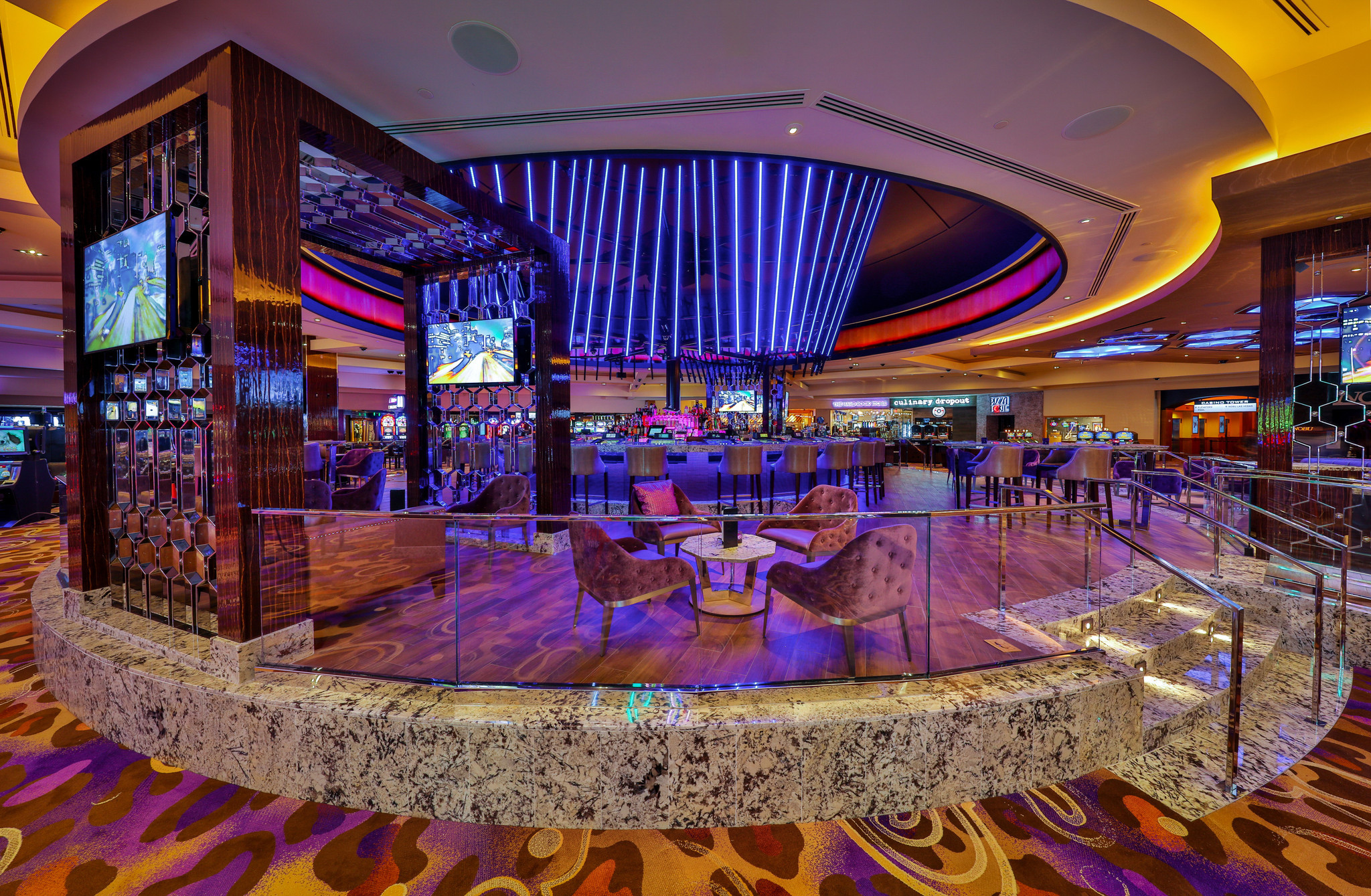 A Revamped Center Bar Emerges At The Hard Rock Hotel La