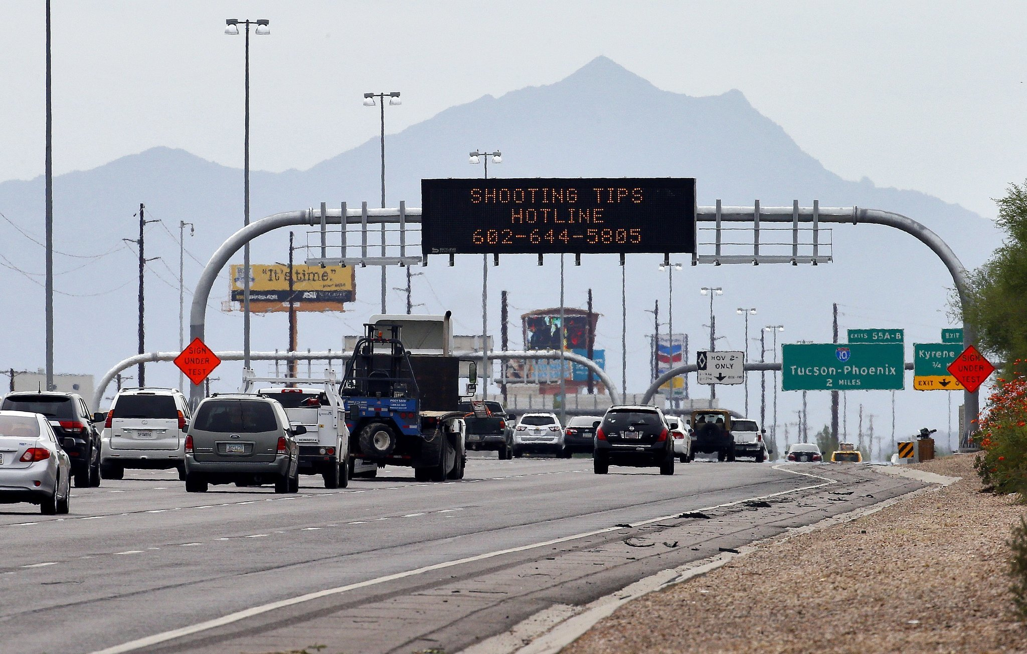 Anxiety builds in phoenix after another mysterious highway for Department of motor vehicles chandler arizona