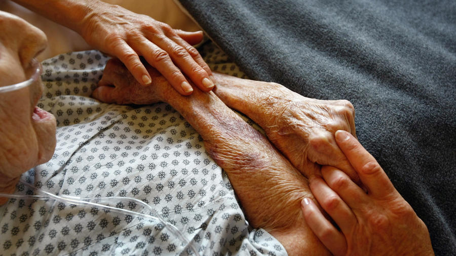 Hospice care for terminally ill patients