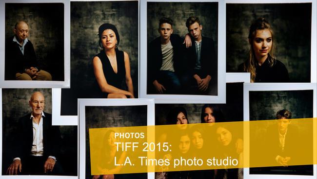 TIFF 2015: L.A. Times photo studio