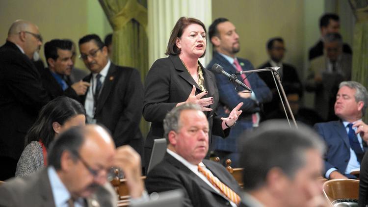 Assemblywoman Toni Atkins. (Marcus Yam / Los Angeles Times)