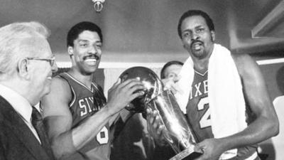 Lunch-pail philosophy, championship endeared Moses Malone to 76ers fans