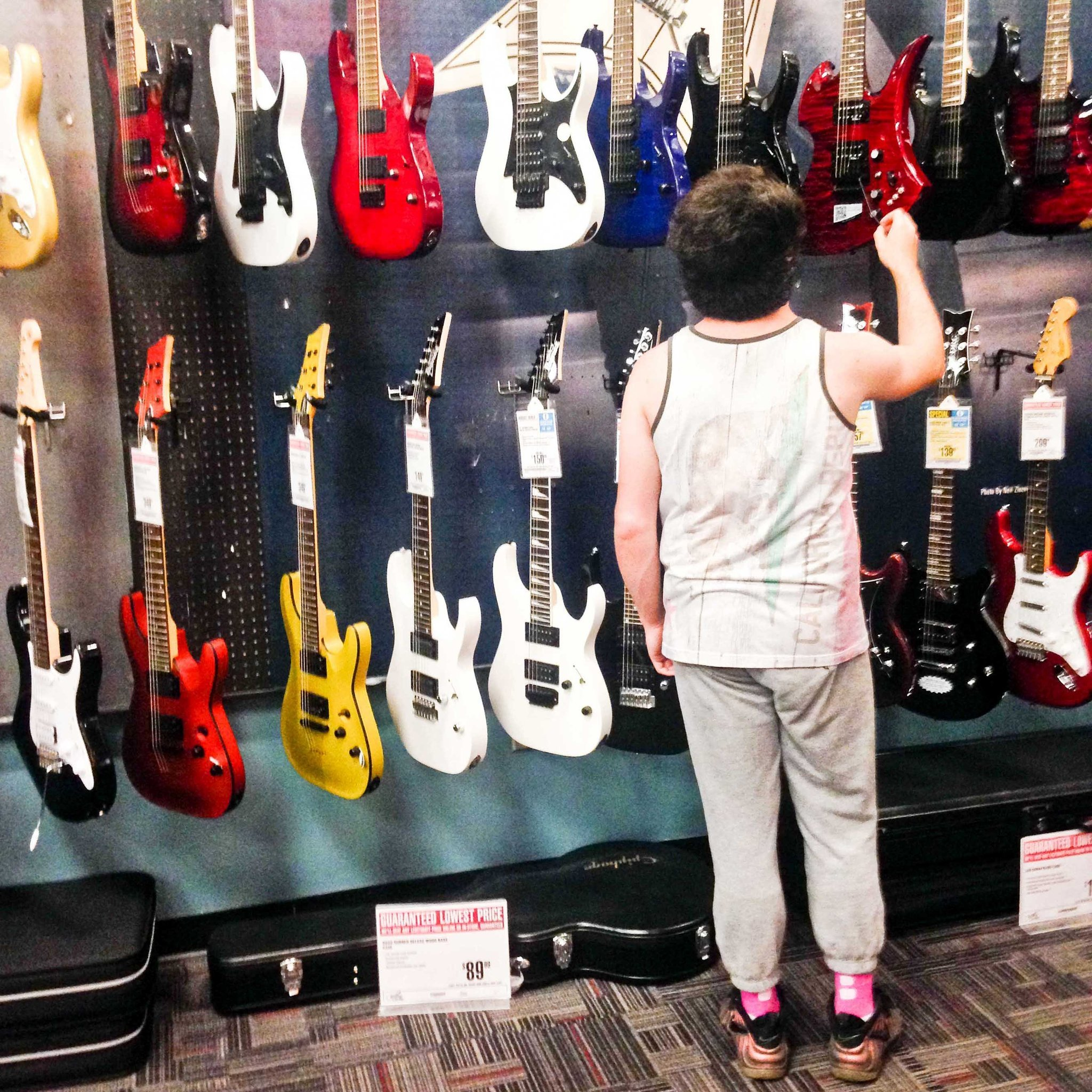 What does Guitar Center sound like? Two musicians secretly recorded customers to find out