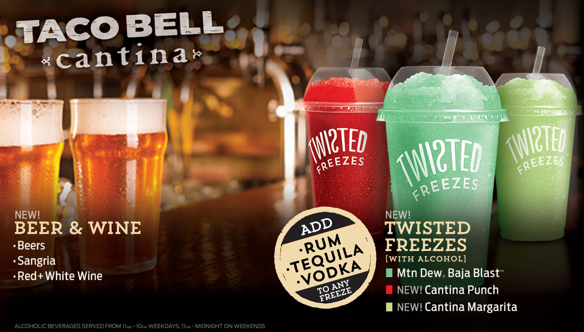 Taco Bell Red Drink