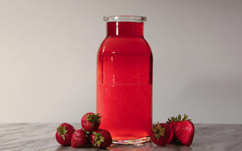 In Praise of Fraise (strawberry vodka)