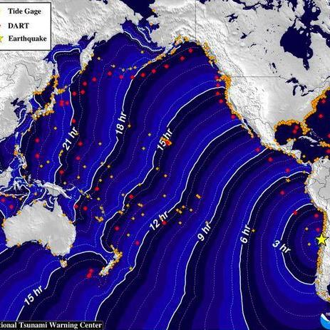 California tsunami risk