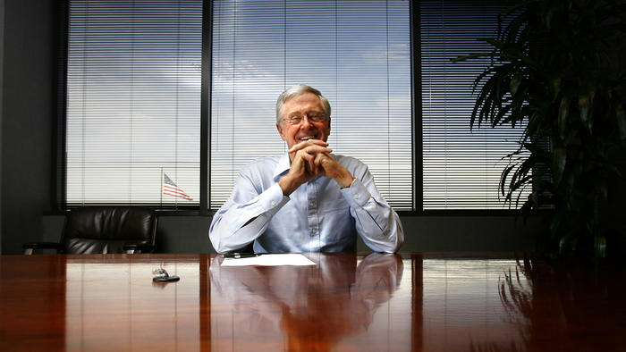 Charles Koch is chairman and chief executive of Koch Industries. (Mike Burley / Associated Press)