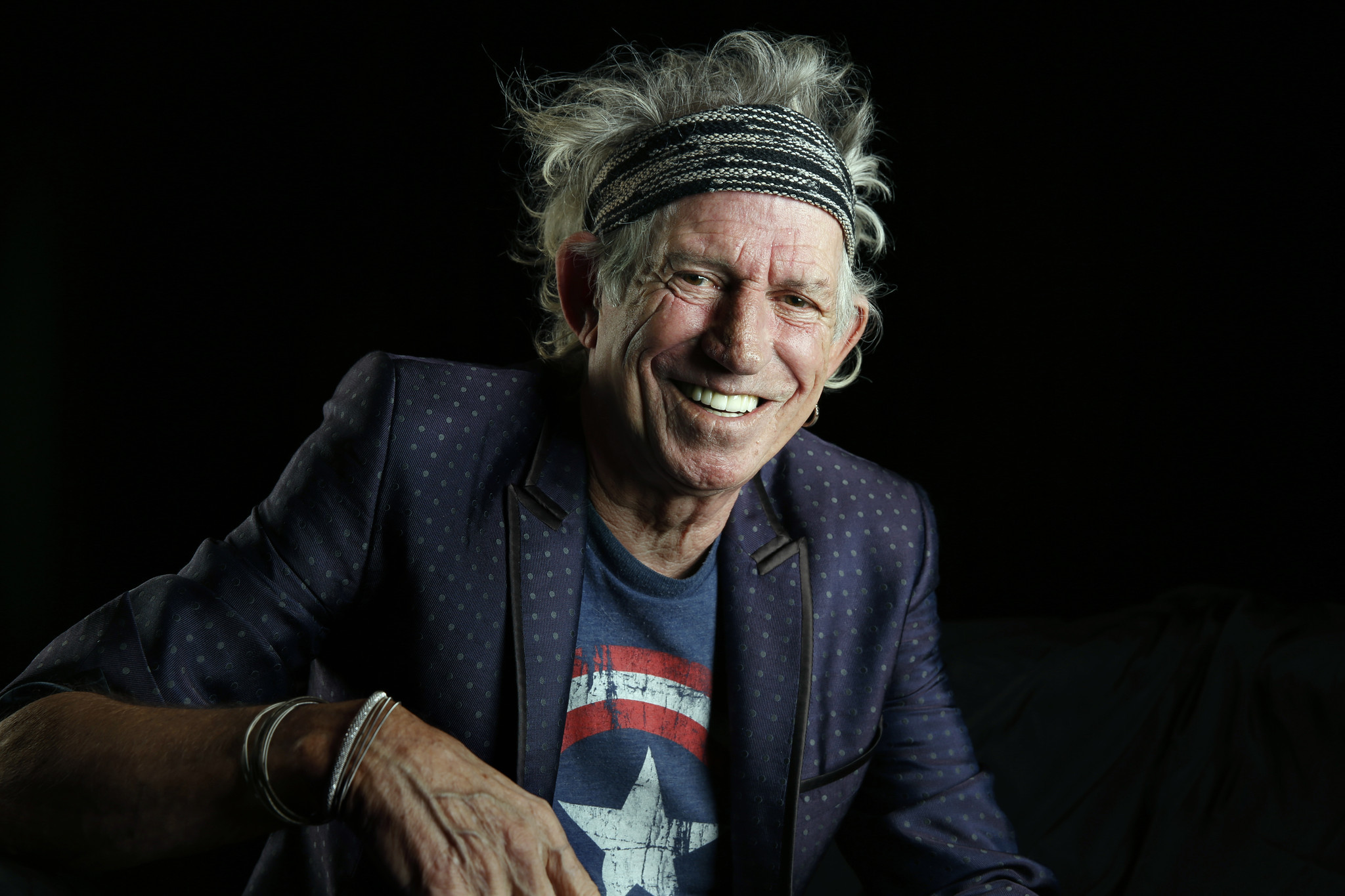With Crosseyed Heart Dropping Keith Richards Offers A