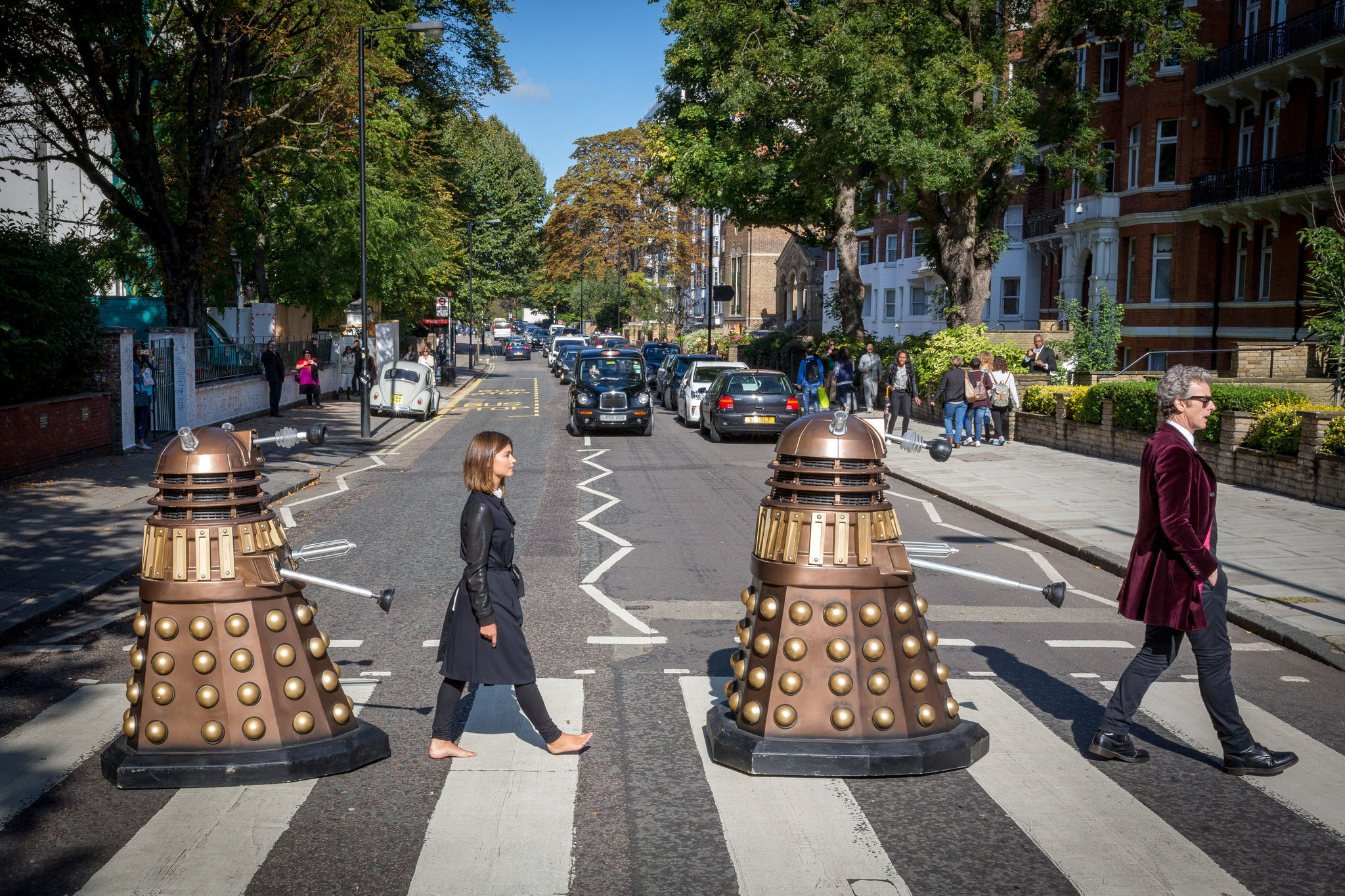 Doctor Who Salutes Beatles