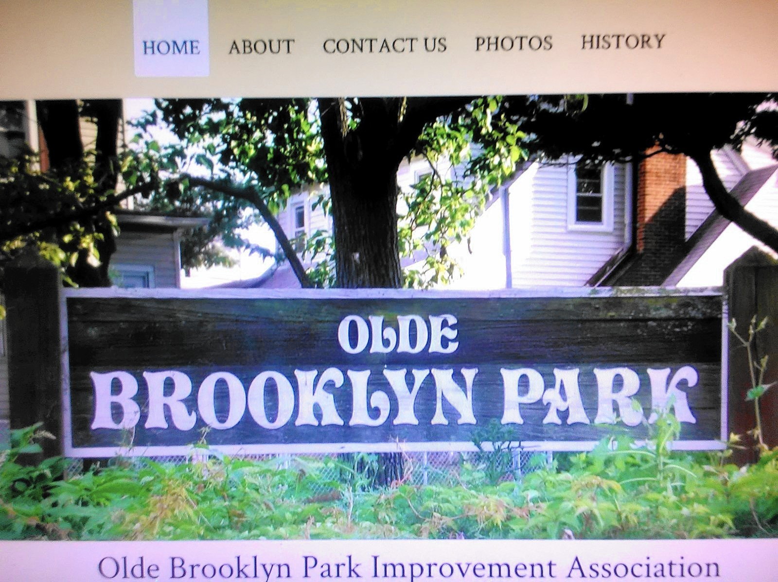 Brooklyn Park Improvement Association Upgrades With New Website