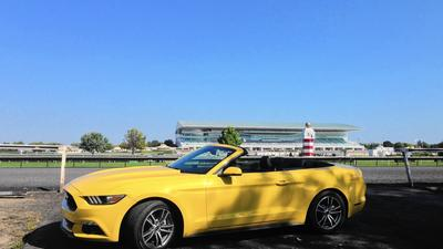 2015 Ford Mustang EcoBoost convertible is toned down but fully capable