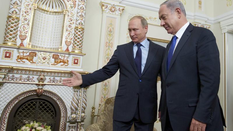 Benjamin Netanyahu visits Russia