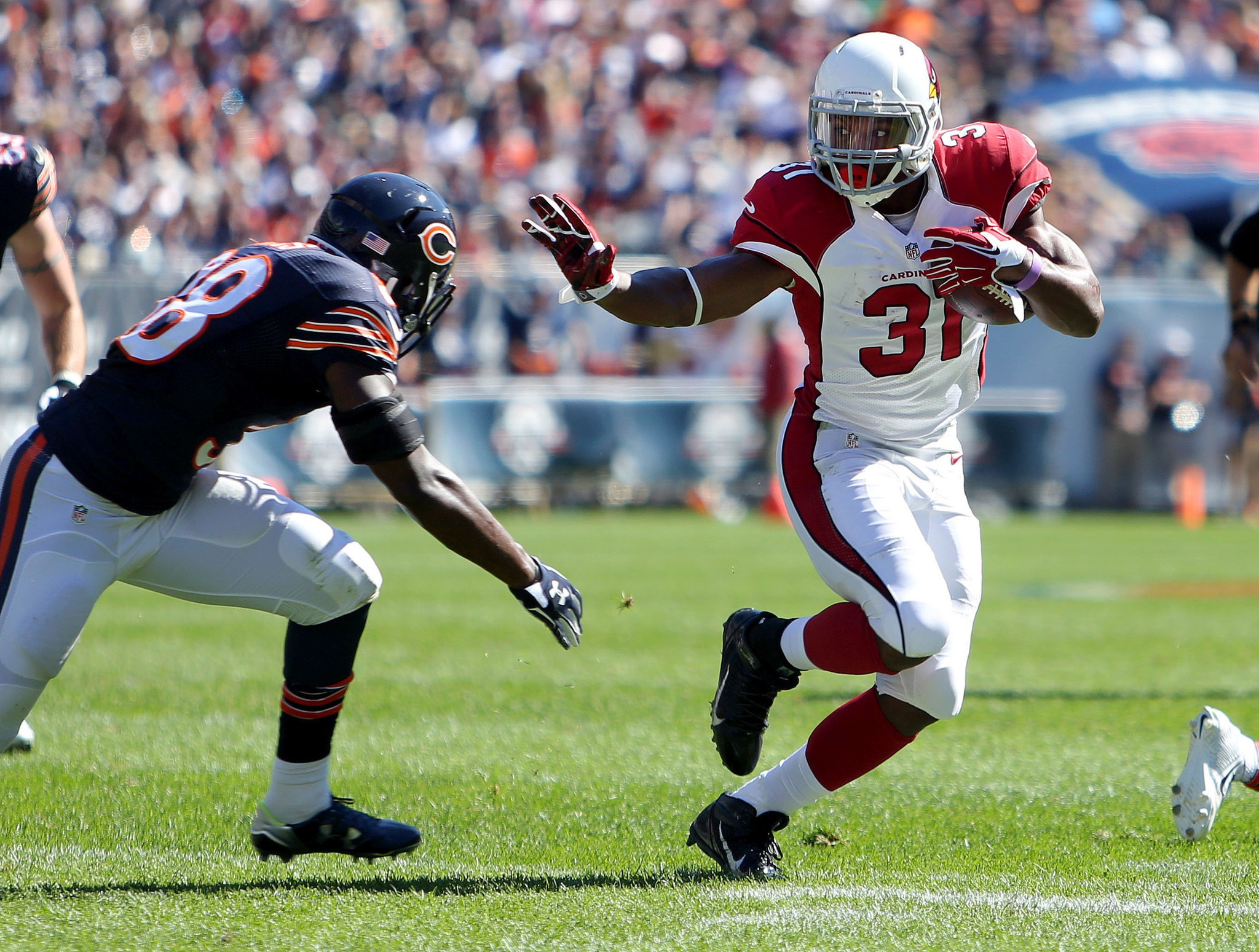 NFL rookie David Johnson already a Hall of Famer or at least his