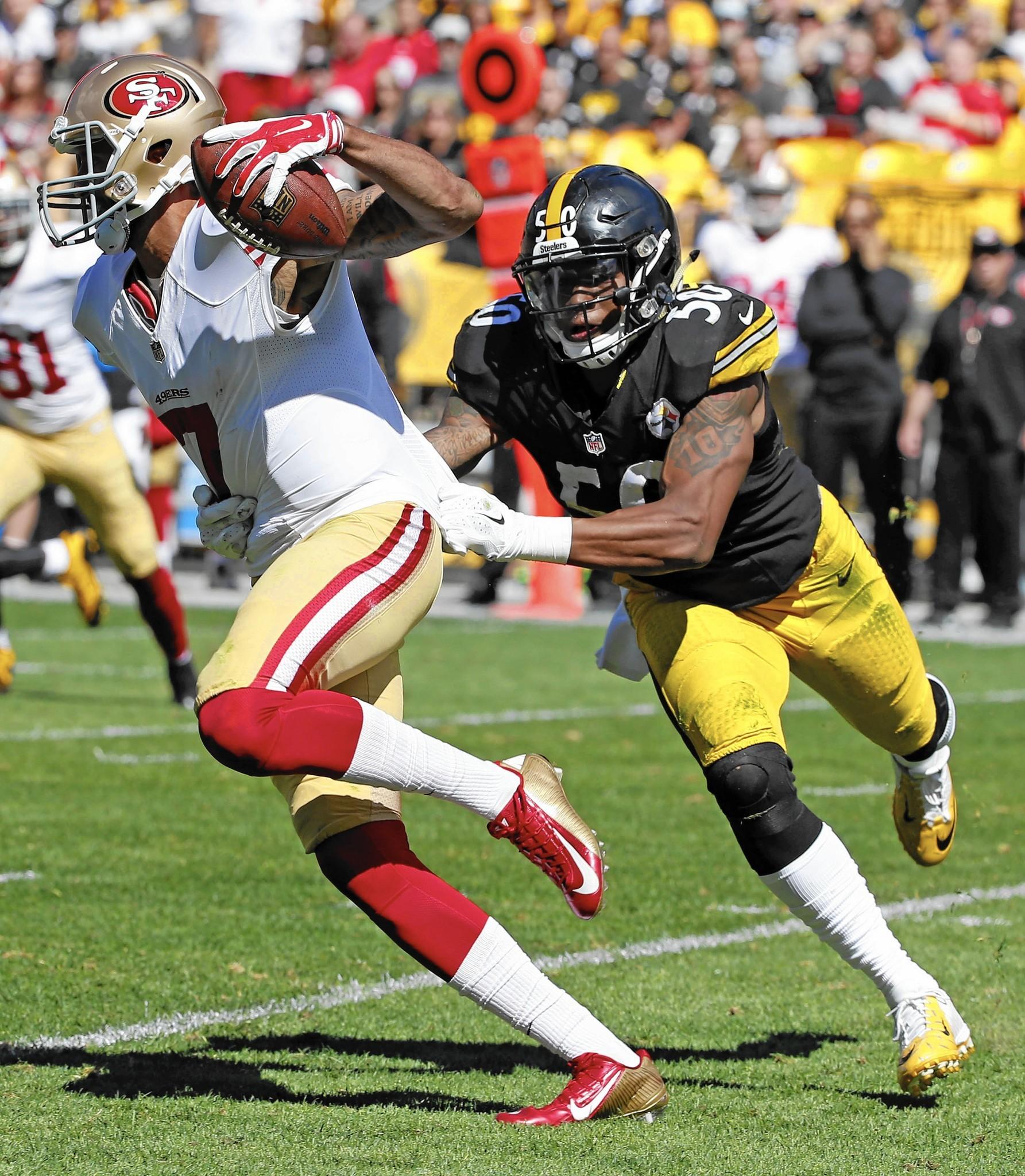 Steelers linebacker Ryan Shazier starting to shine The Morning Call