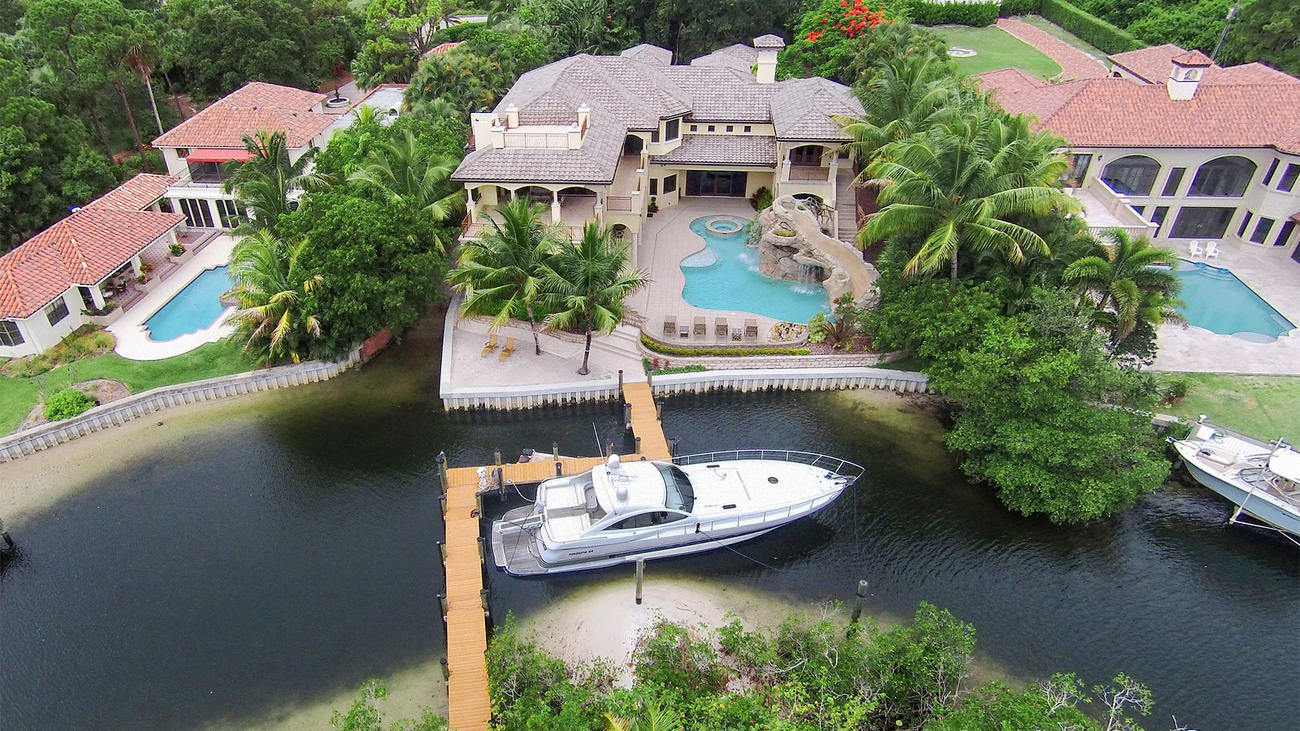 Dustin johnson s new florida house has a small private island the big lead for Jacksons home and garden dallas