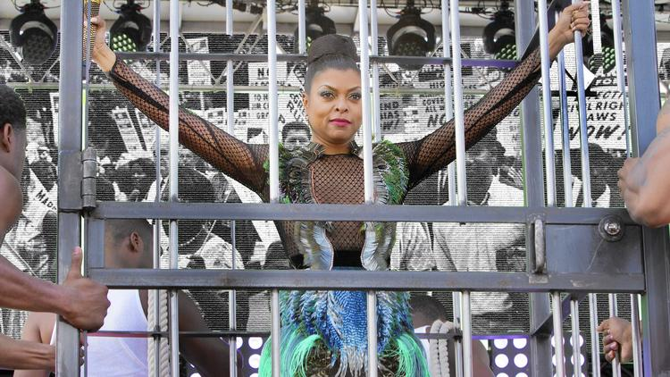 Taraji P. Henson as Cookie Lyon in the Season 2 premiere of