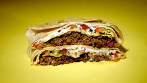 Homemade Taco Bell Crunchwrap Supreme