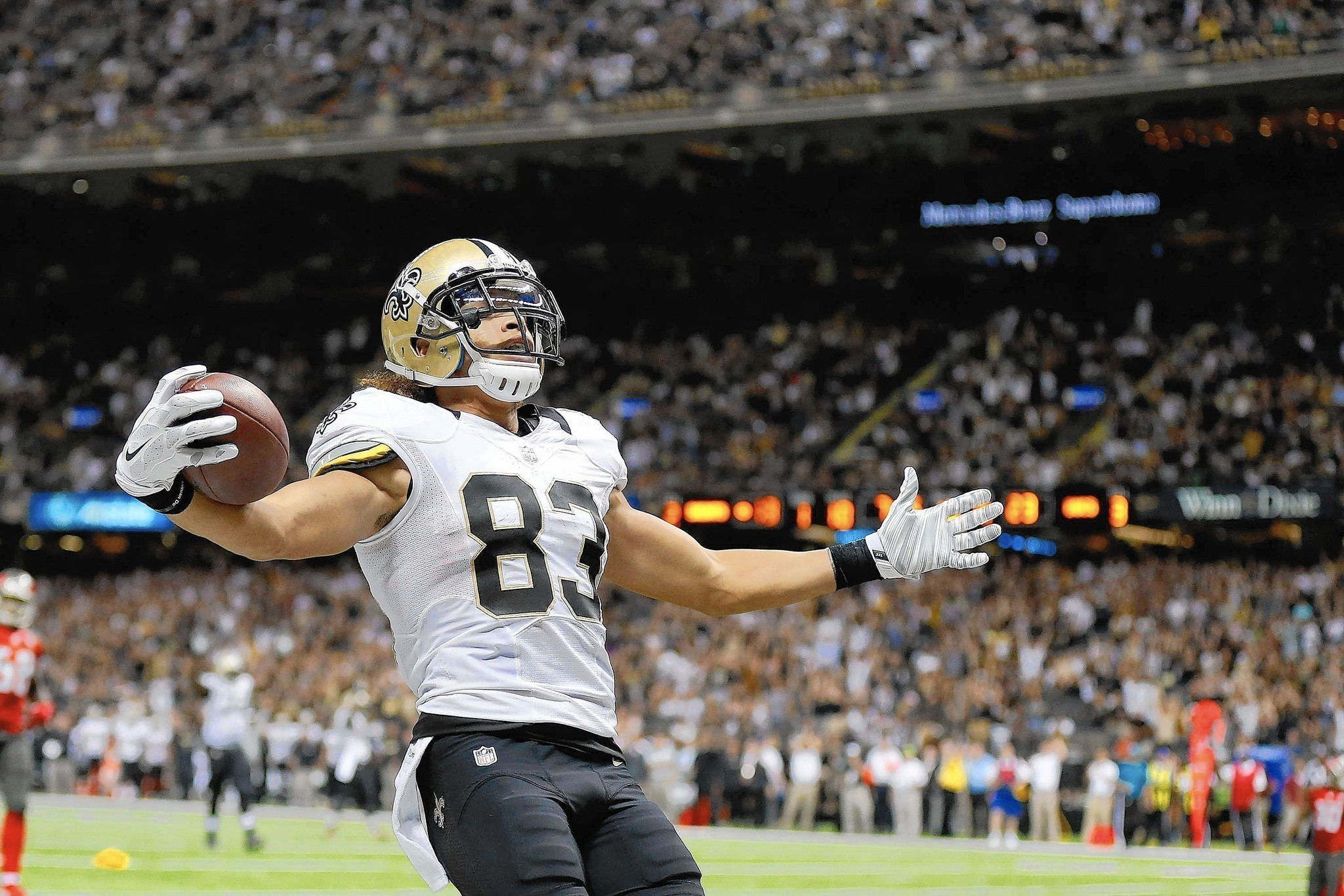 Official Nike Jerseys Cheap - Willie Snead catches first NFL touchdown pass for New Orleans ...