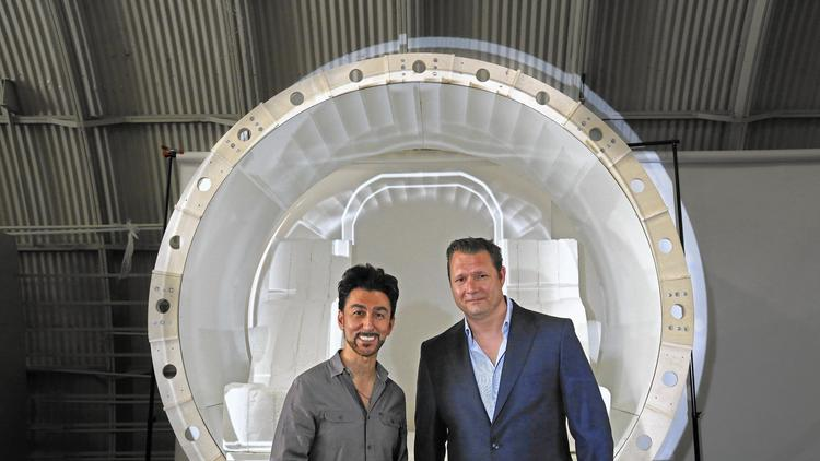 How two L.A. start-ups are racing to develop transportation more amazing than self-driving cars – LA Times