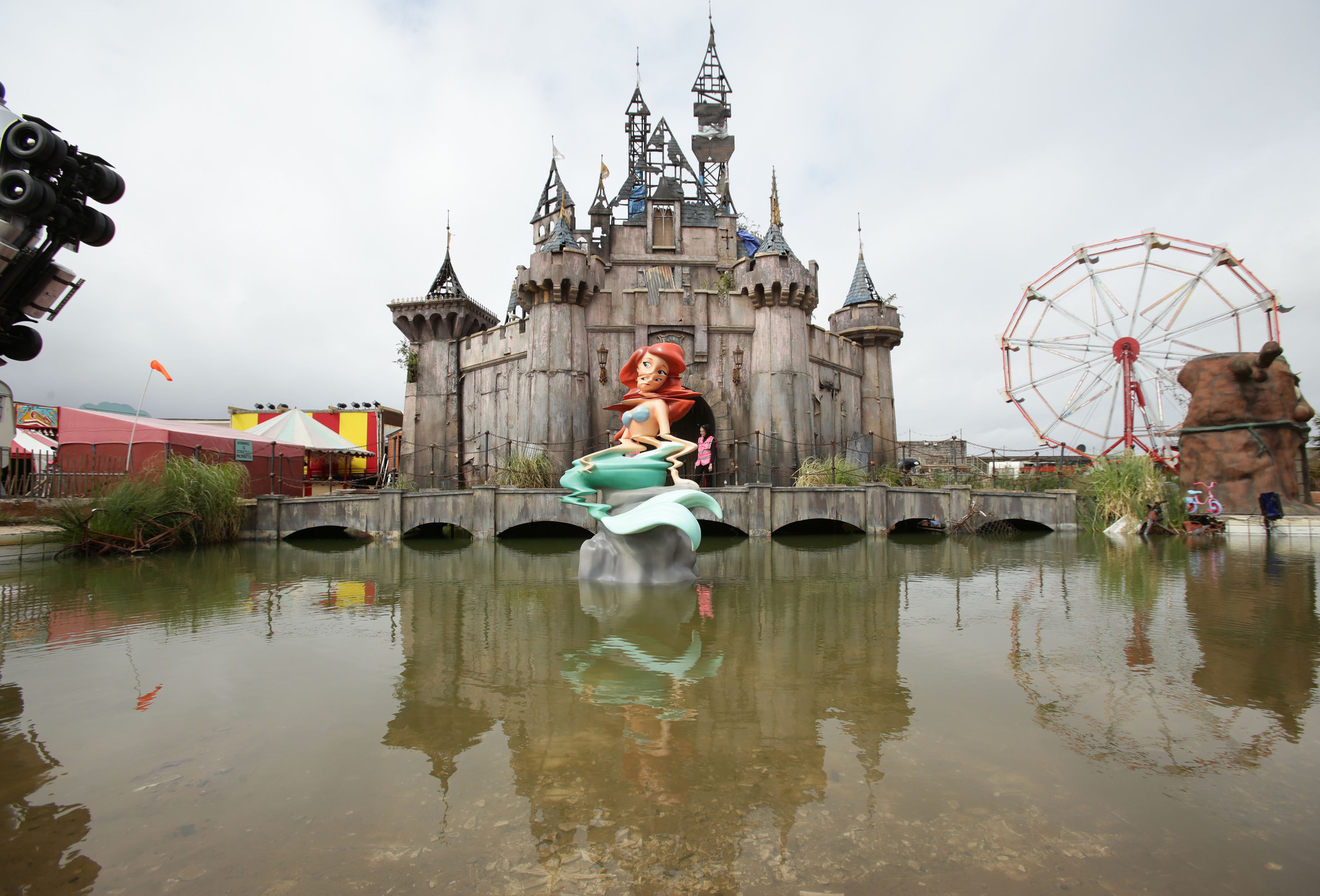 Banksy's Dismaland theme park brings $30M boost to depressed UK town