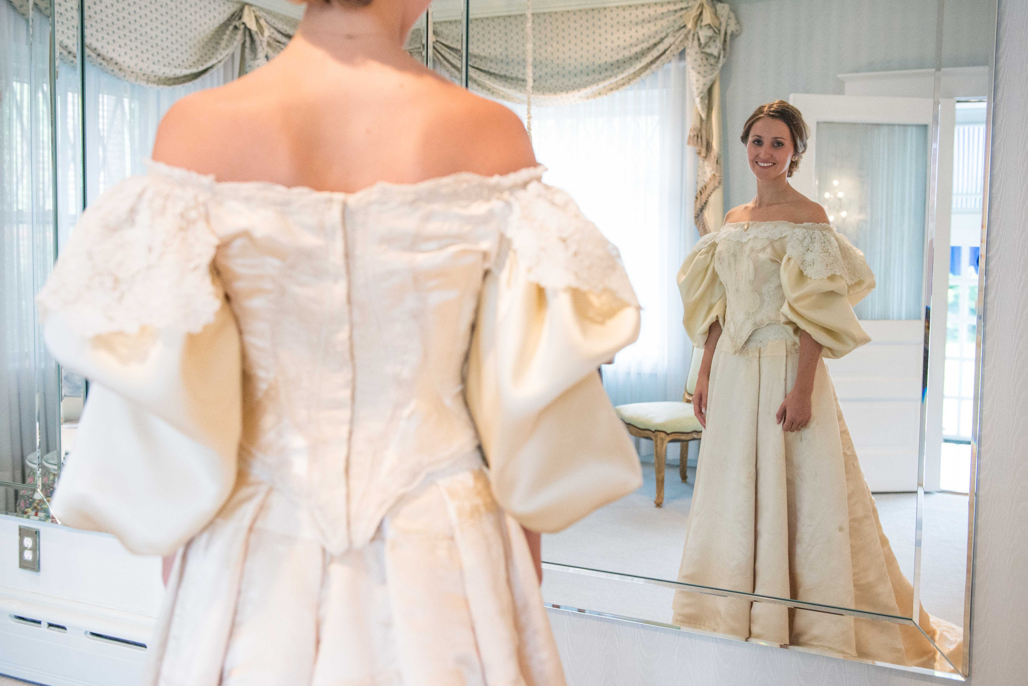Wedding dress heirloom