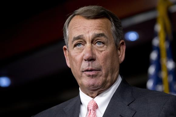 politics john boehner resigns government shutdown