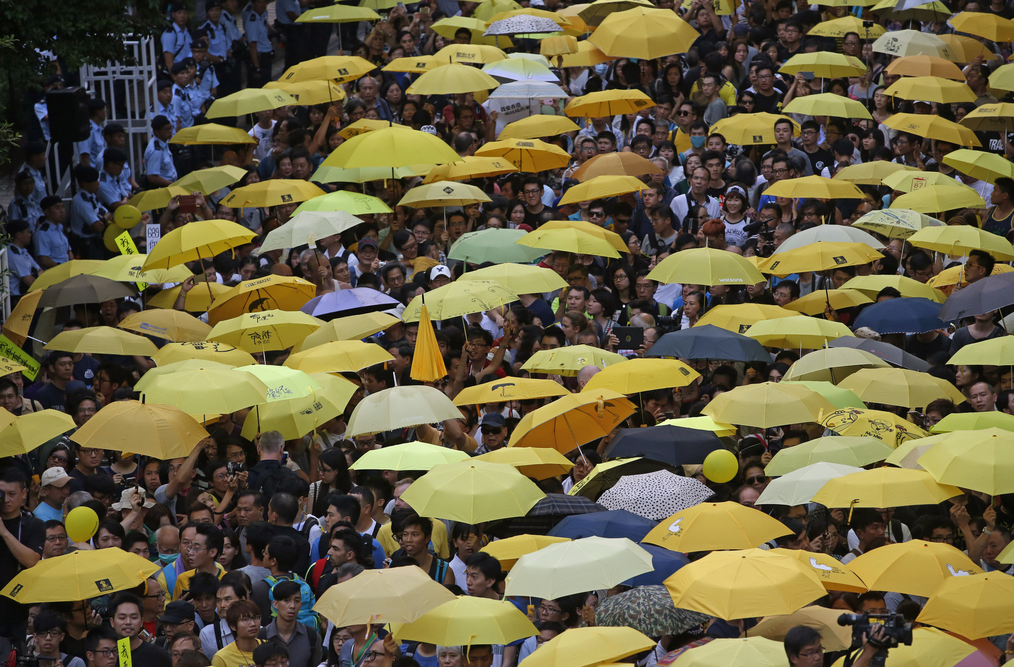 the umbrella movement In november 2015, hong kongers went to the polls for the first time since an uprising of pro-democracy sentiment gripped the city during the umbrella movement in late 2014 the district council elections drew a record 47 percent turnout rate, but neither the pro-establishment camp nor the mainstream opposition turned this high turnout in their.