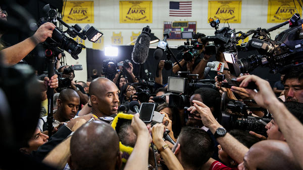 Kobe Bryant talks about his health and future