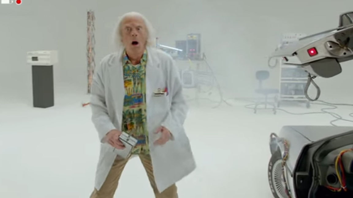 Doc Brown Is Back For Back To The Future Teaser Trailer