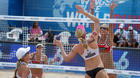 Swatch World Tour beach volleyball in Fort Lauderdale