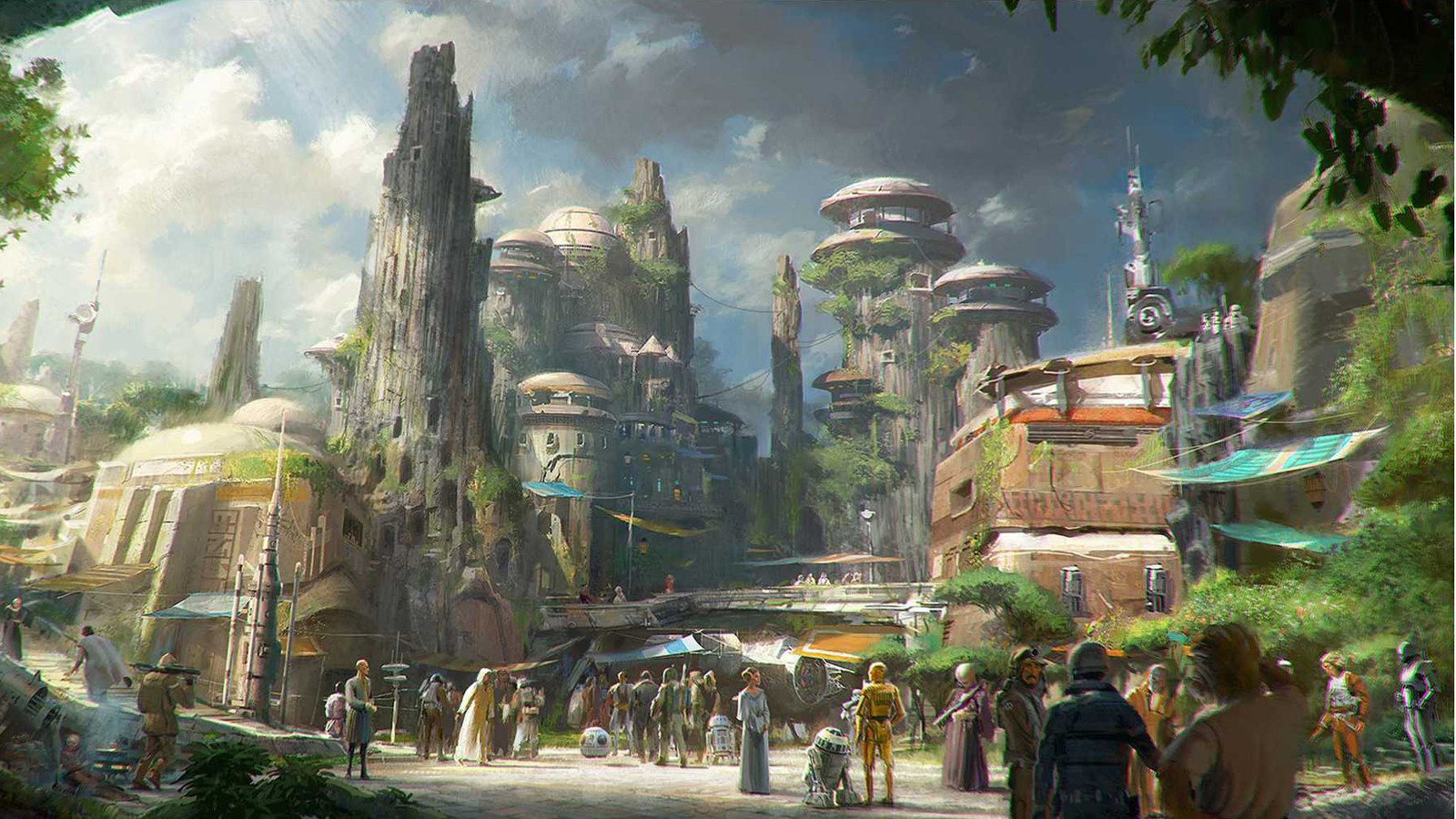 Star Wars Disneyland Ride Disneyland Unveils 'star Wars'