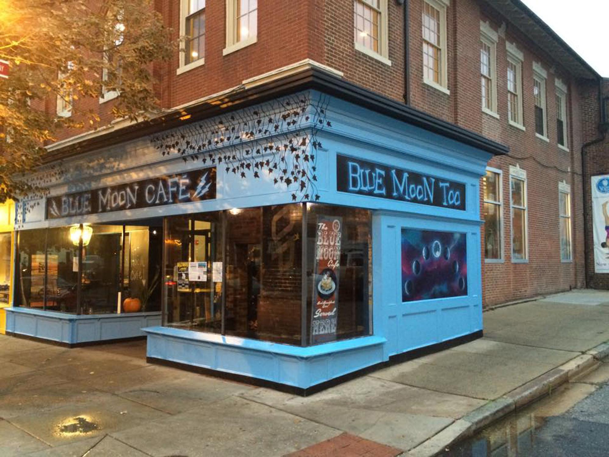 Blue Moon Cafe Federal Hill Menu