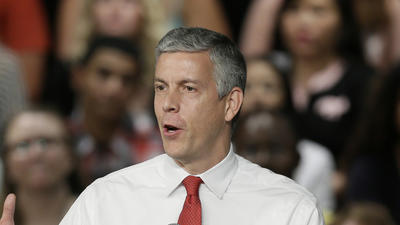 U.S. Secretary of Education Arne Duncan will step down in December