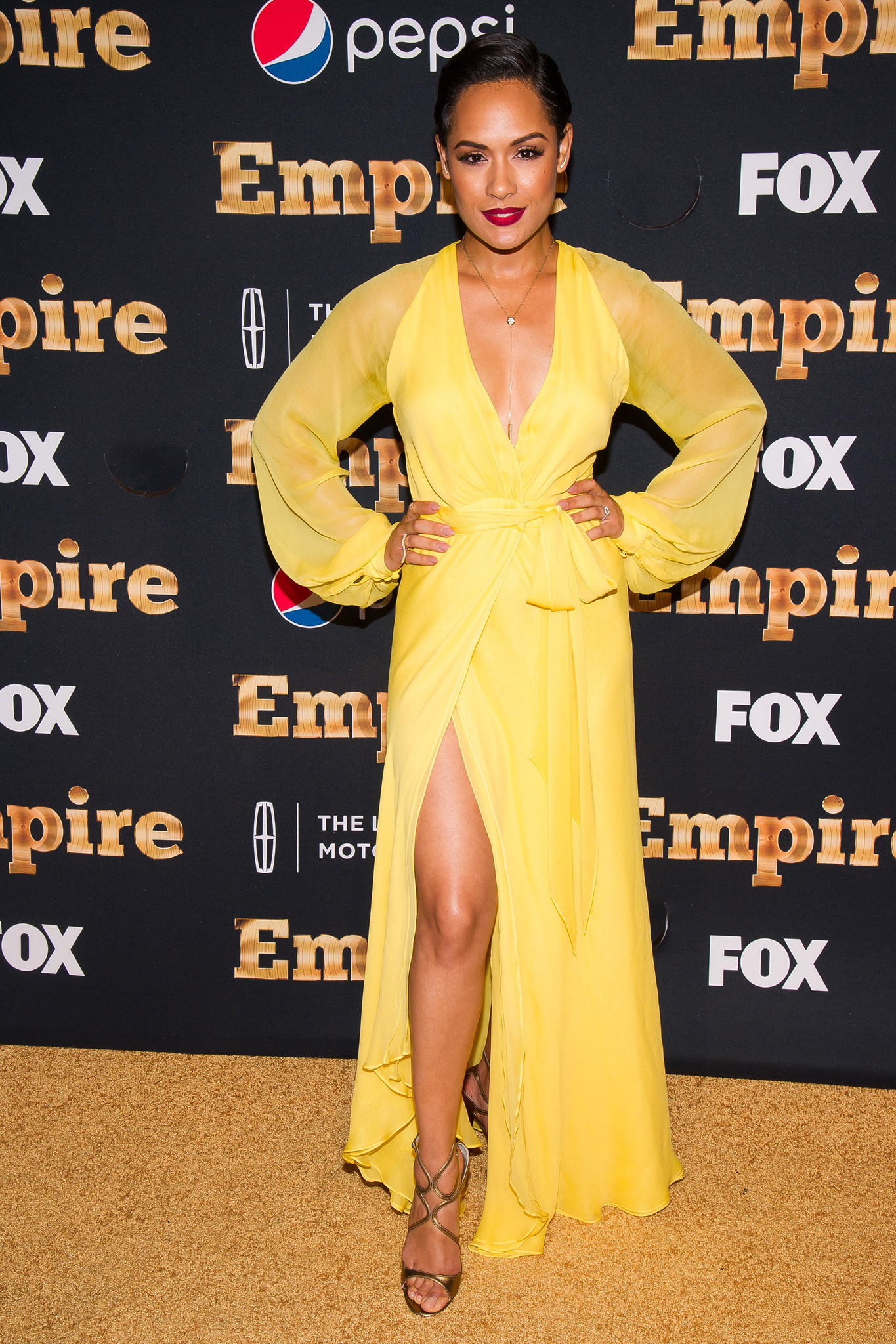 Empire' star Grace Gealey confirms engagement to co-star - Chicago ...