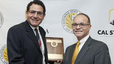 Glendale man, 'public servant' honored by Cal State L.A.
