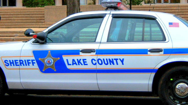 Lake County Sheriff squad car