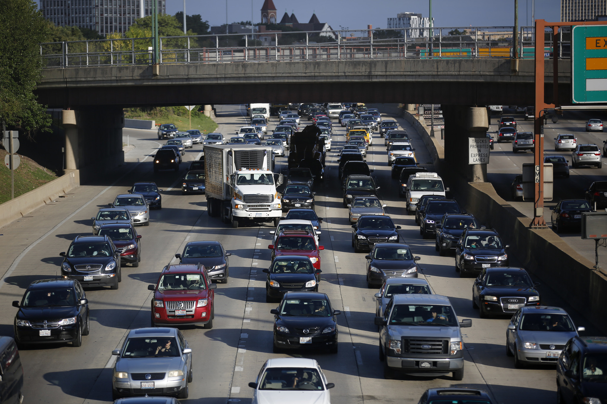 If driving has peaked in major cities, what's next?