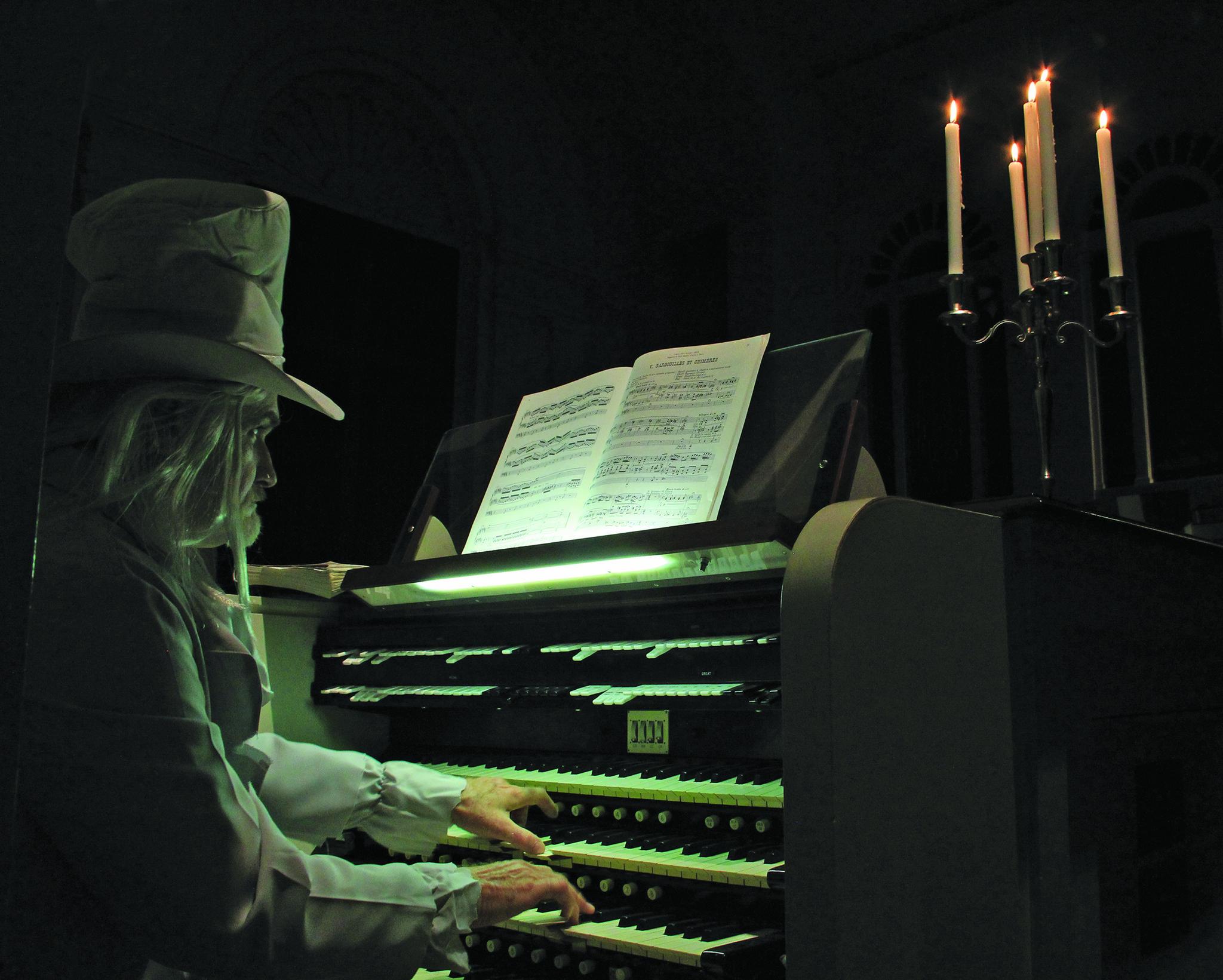 first church halloween organ recital courant community