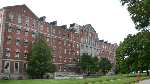 Fort Howard hospital building
