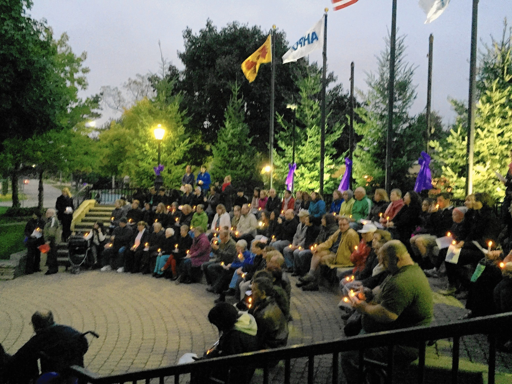 Candlelight Vigil Highlights Prevalence Of Domestic Violence Chicago Tribune