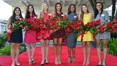 Three La Cañada students among those named to Rose Court