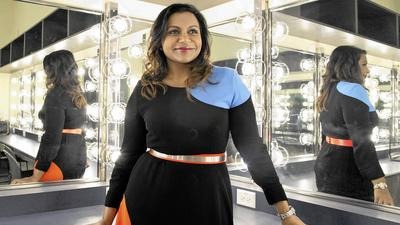 Mindy Kaling sits down with a sold-out crowd