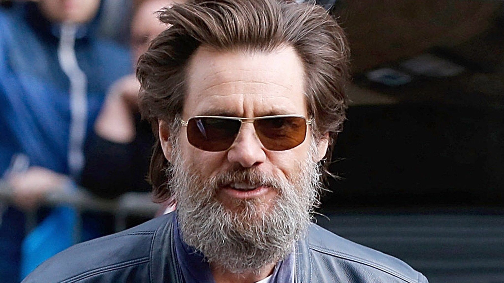 Jim Carrey, Cathriona White were just taking a 'breather ... Jim Carrey