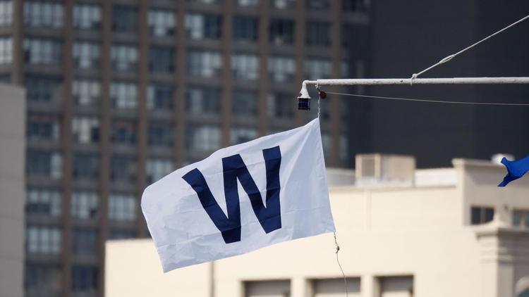 Cubs W Flag